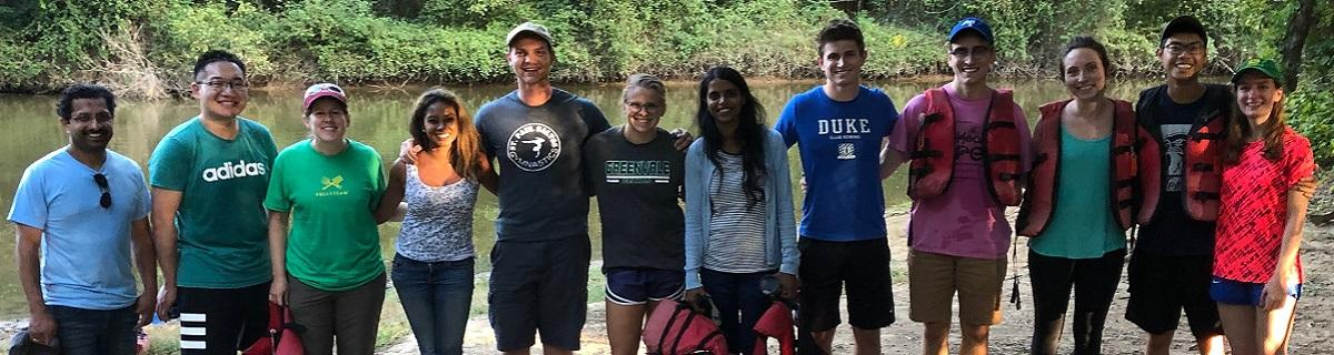 Payne Lab kayak/canoe trip September 2019